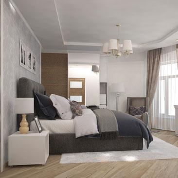 Оформление комнаты для гостей - дизайн-проект.