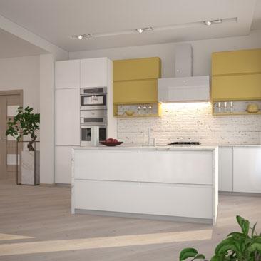 Дизайн кухни в современном стиле: дизайн гарнитура и интерьера.