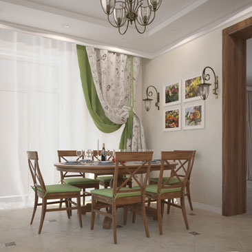 Дизайн интерьера кухни в классическом стиле: проект, портфолио.
