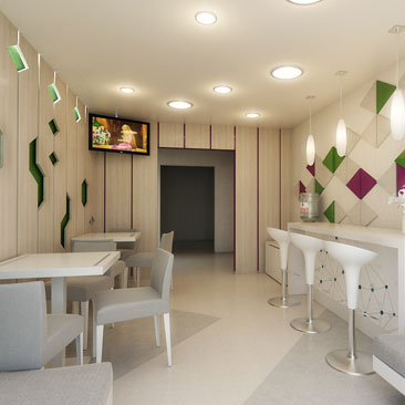 Дизайн-проекты детских центров.