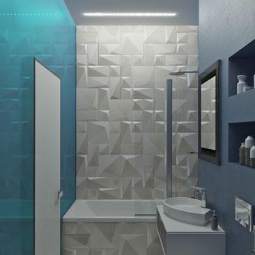 Дизайн ванной комнаты – новые идеи для Вашей квартиры или дома.