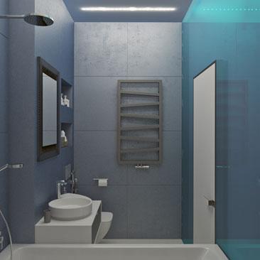Дизайн ванной комнаты маленького размера фото.