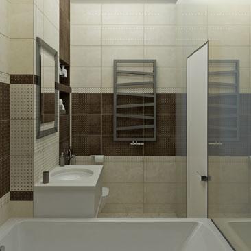 Дизайн маленькой ванной комнаты - интерьер, дизайн.