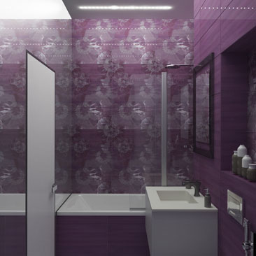 Дизайн маленькой ванной комнаты - примеры, проекты, фото.