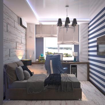 Подростковая комната: идеи дизайна.