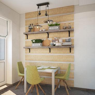 Дизайн-проект кухни от профессионалов в Москве, Воронеже.
