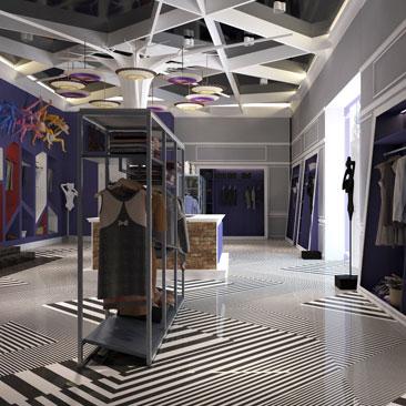 Дизайн интерьера магазина: креативный интерьер, уникальный проект.