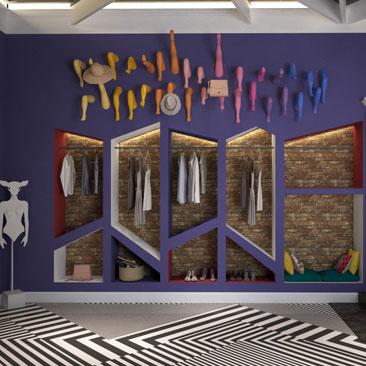 Современный дизайн интерьера магазинов