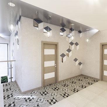 Дизайн интерьера домов и коттеджей в Воронеже.