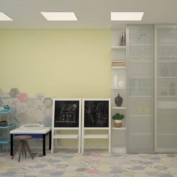 Дизайн-проектирование частных детских садов.