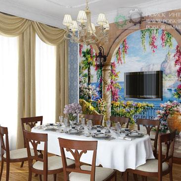 Дизайн маленьких и больших кухонь - подборки фотографий интерьеров красивых кухонь.