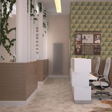 Необычный дизайн офисов фото.