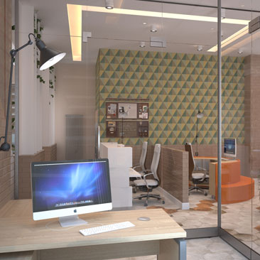 Уникальные дизайн-проекты офисов фото.