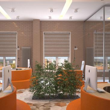 Дизайн современного офиса фото