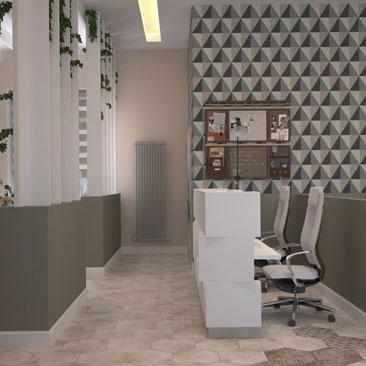 Дизайн офиса в стиле open space Москва, Воронеж.