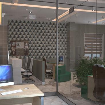 Дизайн офиса заказать Воронеж.