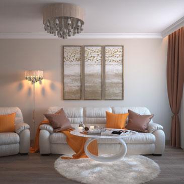 Фото идей для интерьера гостиной, проекты гостиной.