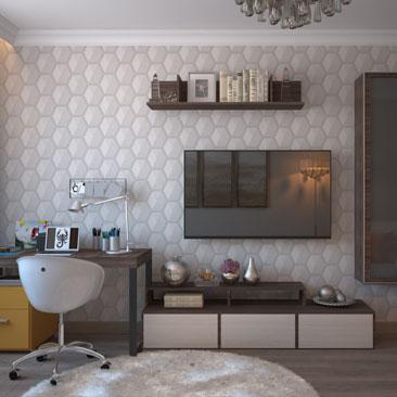 Проекты дизайна гостиной, подборки фото интерьеров.