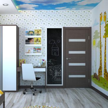 Дизайн детской комнаты: 10 000 фото и идей детской комнаты.
