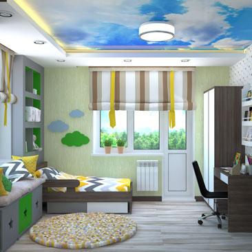 1000 лучших идей дизайна детской комнаты - фото.
