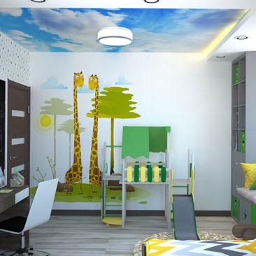 Маленькая детская комната (фото)