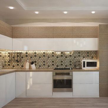 Дизайн интерьера кухни - фото.