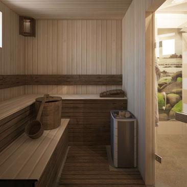 Интерьер бани: идеи дизайна сауны и бани.