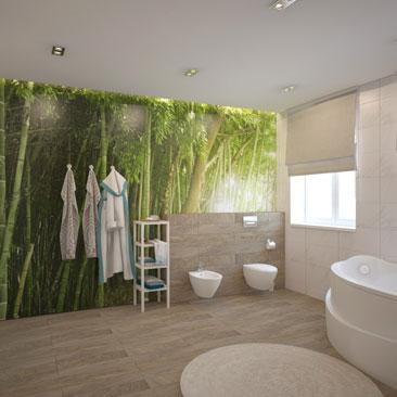 Большие ванные и туалеты - фото и проекты.