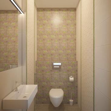 Комфортные ванные и туалеты - фото и проекты.