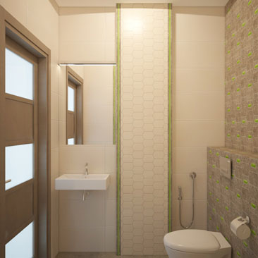 Небольшие ванные и туалеты - фото и проекты.