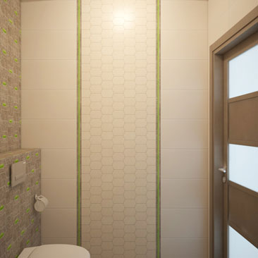 Простые ванные и туалеты - фото и проекты.