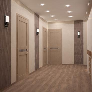 Дизайнерские холлы, прихожие и коридоры - фото и проекты.
