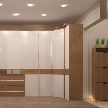 Большие холлы, прихожие и коридоры - фото и проекты.