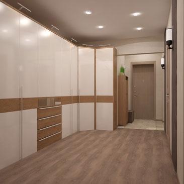 Просторные холлы, прихожие и коридоры - фото и проекты.