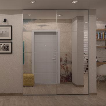 Современные холлы, прихожие и коридоры - фото и проекты.