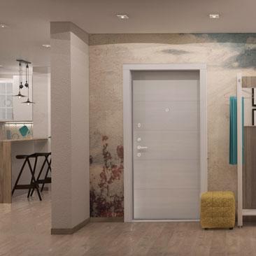Уютные холлы, прихожие и коридоры - фото и проекты.