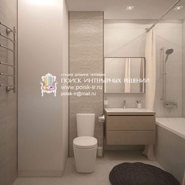 Дизайн интерьера ванной комнаты и санузла, фото.