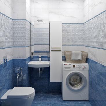 Туалет. Интерьер. Фото.
