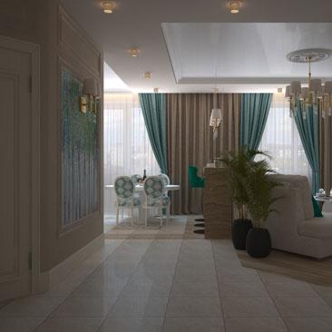 Дизайн-проект гостиной в коттедже: примеры, варианты, фото.
