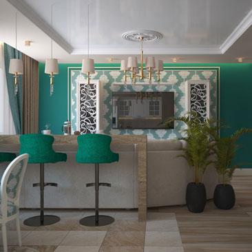 Дизайн интерьера гостиной в доме: проекты гостиных.