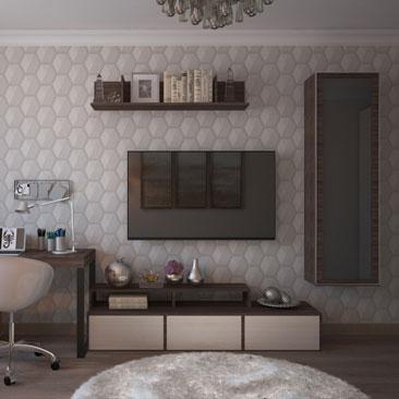 Дизайн-проект маленькой гостиной, идеи оформления.