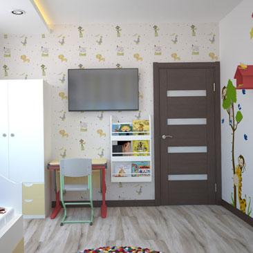 Уютная детская комната: интересные идеи с фото.