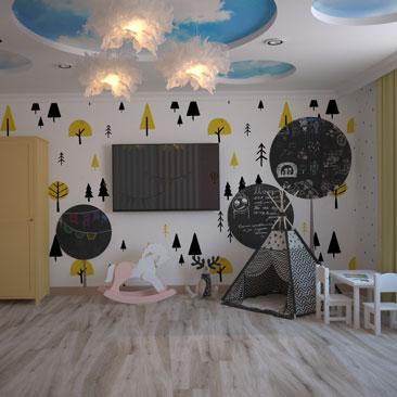 Комната для разнополых детей: фото и варианты дизайна.