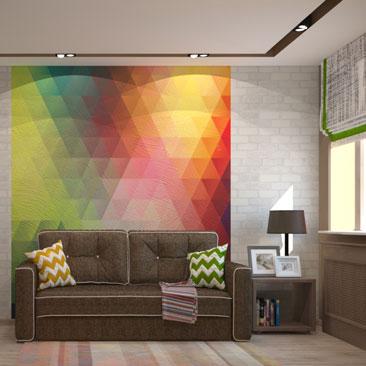 Лофт-интерьер комнаты для подростка.
