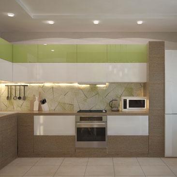 Кухня в эко-стиле: дизайн, декор, фото.