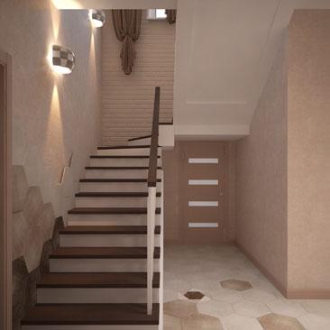 Лестницы в коттеджах: на второй этаж, фото, проекты.