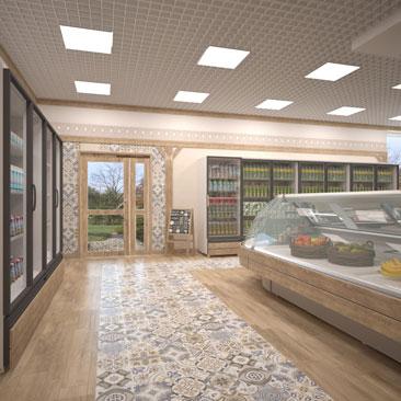 Дизайн мясного магазина внутри фото.