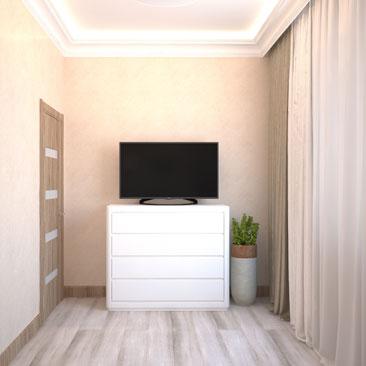 Дизайн интерьера гостевой комнаты: комфортно и стильно.
