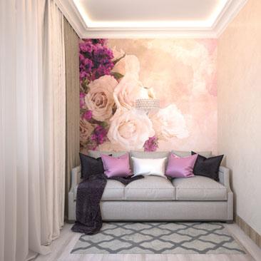 Дизайн интерьеров гостевых комнат – фото.
