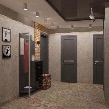 Дизайн квартиры в стиле Лофт.
